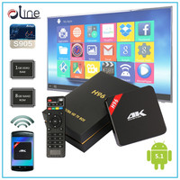 New arrival 1GB DDR3 RAM 8GB NAND ROM lcd tv box H96 tv tuner box withhdmiav output