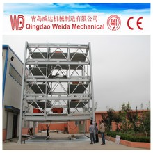 High quality of Multilayer Lift-sliding parking system with CE