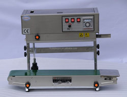 SF-150 series Wenzhou the most durable Horizontal and Vertical double-use continous band sealer
