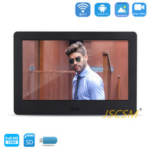 sexy small fancy unique wedding wireless digital photo frame 7 with wifi hd