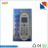 Factory supply one for all air conditioner remote controls for middle east market
