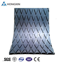 Diamond grooved rubber pulley lagging sheet