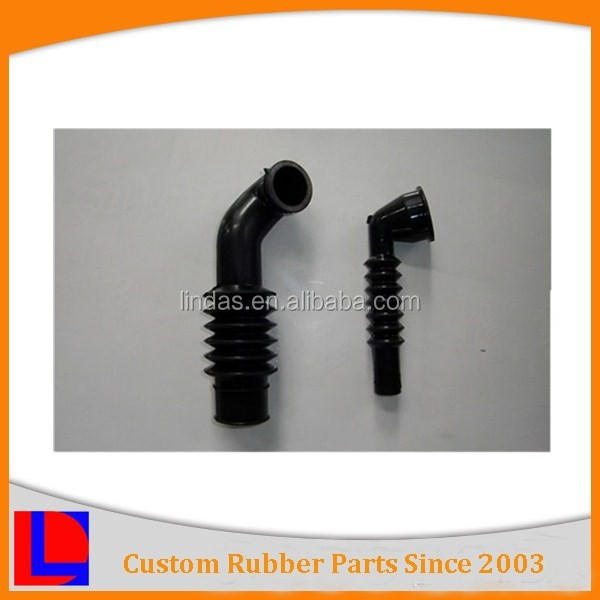 Custom design auto application heat resistance EPDM/NBR/CR rubber pipe bellow