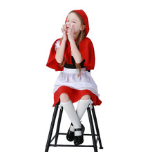 Children Little Red Riding Hood Dresses Halloween Halloween Costumes 61 Children's Day Performance Sets