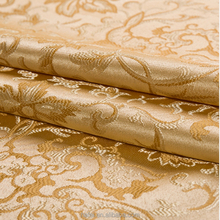 Hotel 100% polyester fabric 100% polyester faux silk curtains