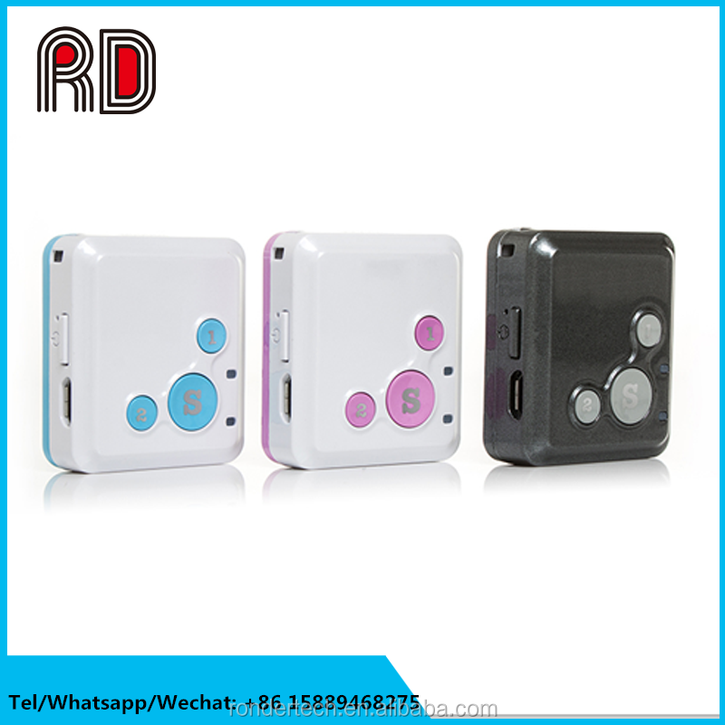 Sim card gps tracking device Mini kids gps tracker RF-V16,gps tracker for kids