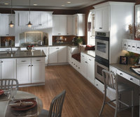Country style high quality l shaped modular kitchen designs