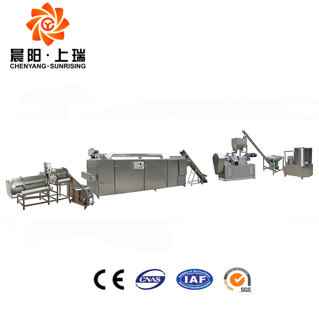 Breakfast cereals manufacture corn flake processing line
