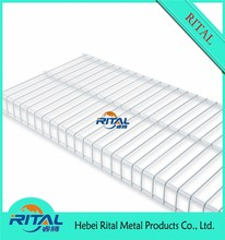 plastic coated metal wire shelves for closet shelving wire