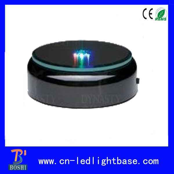 2016 HOT SALE BATTERY OPERATED BLACK LED LIGHT BASE FOR CRYSTAL