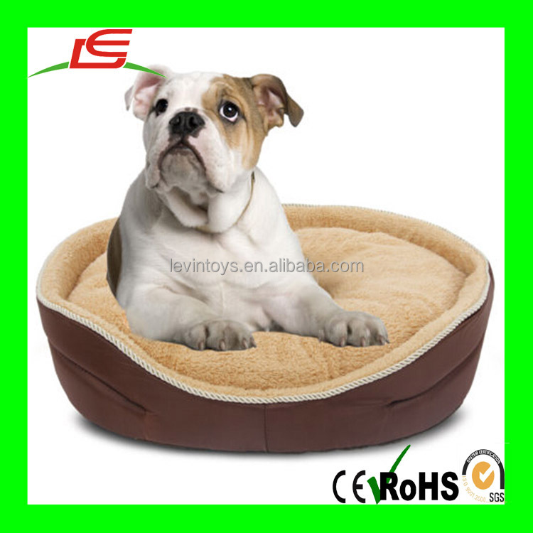 Fashion customized new shaped soft plush pet home dog bed