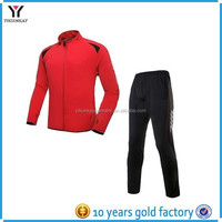 Custom sport tracksuit mens training and jogging wear