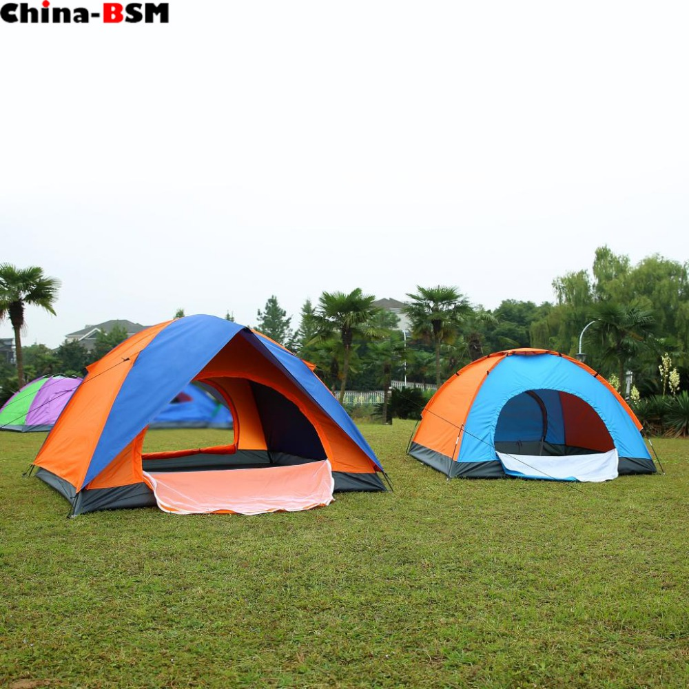 Strong windproof pop up camping leisure mountain climbing outdoor tent