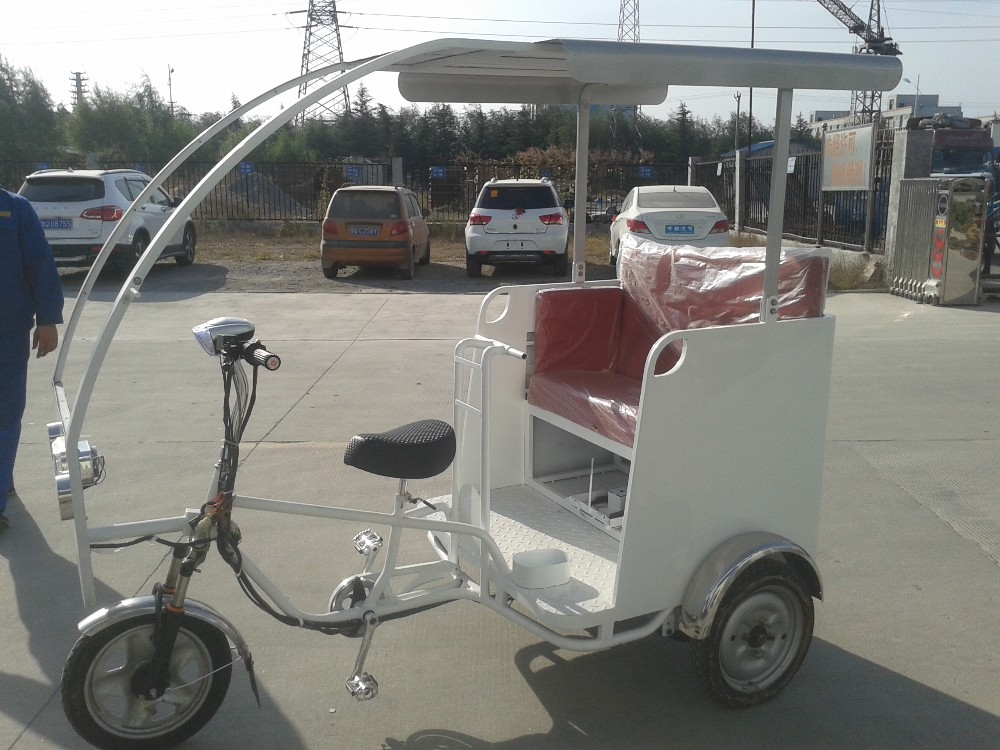 bajaj type electric tricycle for tourism