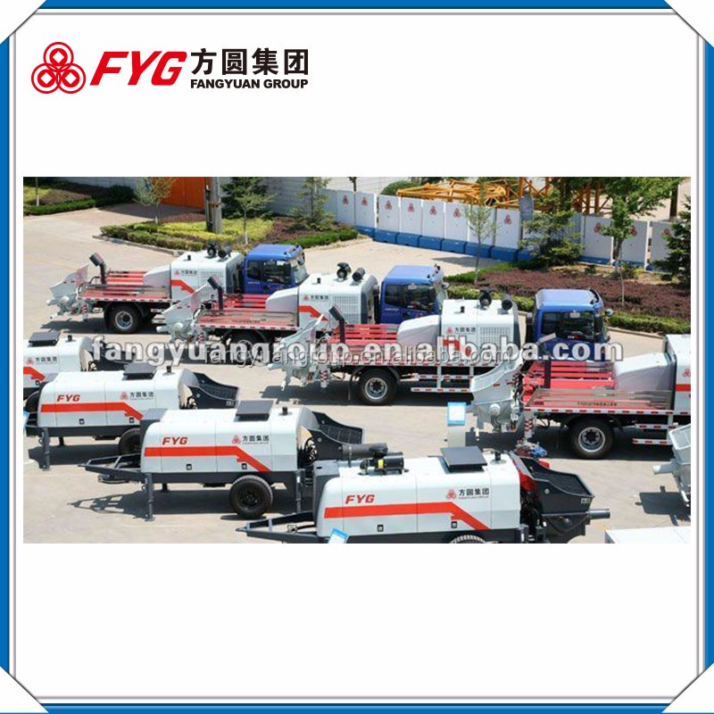 China wholesale FYG used concrete pump trucks japan HBTS80-16-181