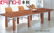 Wooden conference table MDF office table for meeting
