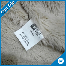 Cheap printed clothing nylon taffeta care label