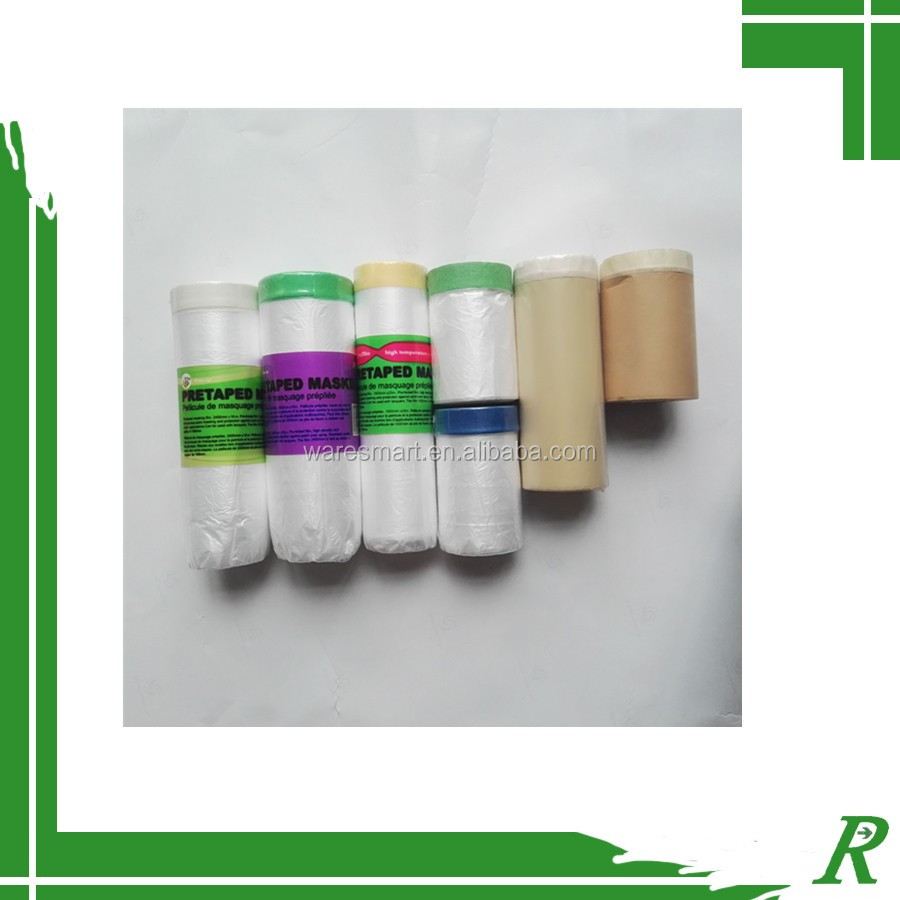 construction masking film window masking film