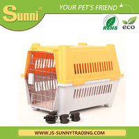 Customized plastic big handmade dog kennel