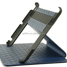 360 rotating convenient leather case with holder for ipad mini