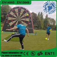 Hot Crazy Giant Inflatable Foot Dart Board For Shooting Game