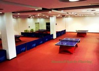 Commercial pvc flooring for sports, Badminton/Basketball/ table tennis