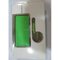 5200mah perfume power bank for mobile phone and digital products