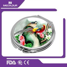 sublimation square hand mirror blank compact mirror custom pocket mirrors