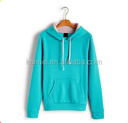cheap hooded sweatshirt wholesale pullover fitted hoodie ladies bright color hoodies