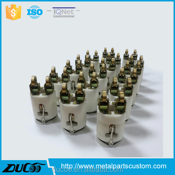 Hot ink roll coder parts for light bulb production line