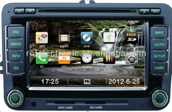 Touch screen special car dvd for FABIA bluetooth gps for SKODA