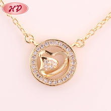 2015 Latest wholesales price gold plated bio solar energy pendant