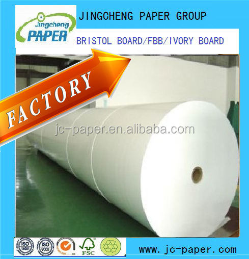 white Solid bleached sulfate SBS Paper Board
