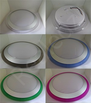 CE approved round 3d model color slim hidden round acrylic cylinders ceiling light 170v led circle ring light & lights