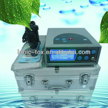 life detox spa with FIR Belt and Big LCD Screen WTH-201