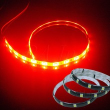 Flexible 12 SMD Interior & Exterior Decoration LED Strip 30CM (1 feet) RED
