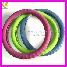 Newly promotion soft usrful professional silicone car steering wheel cover