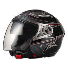 Brand JX-OP02 two mirror helmet open face helmet 2015 double visor open face helmet