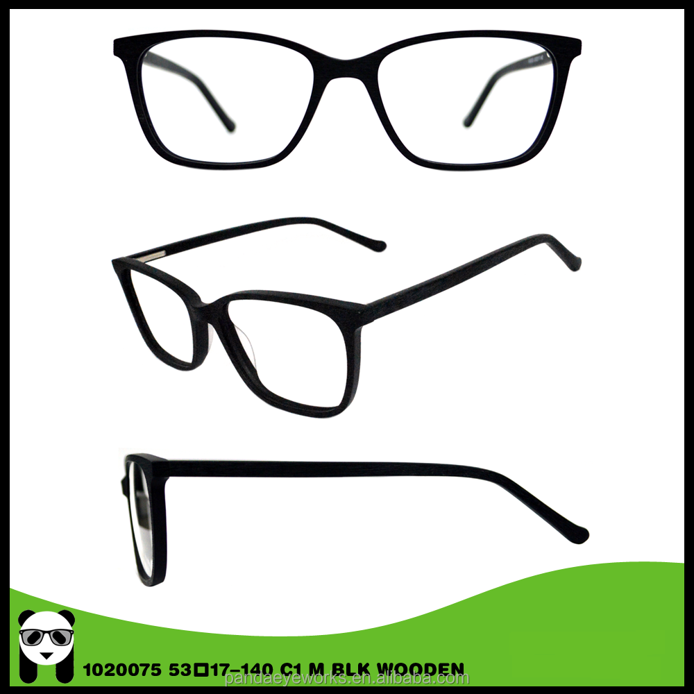 Newest Mode Trendy Acetate Cat-Eye Western Eyewear Ideal Optics Frames For Low Vision
