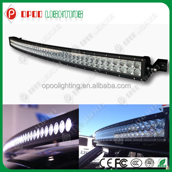"50"" cree led light bar, 25920lm 288w 4x4 curved 50"" cree led light bar"