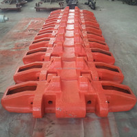 Crawler Excavator Casting Track Shoe With Good Quality Made In China