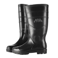 2015 NEW transparent pvc rain boots/working safety boots