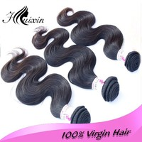 Top grade 100 virgin human hair brazilian body wave wholesale hair weave