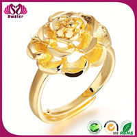 Jewellery Rings For Girl 24K Solid Gold Ring