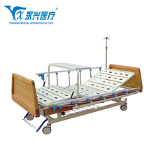 Yongxing A04-016 Stable Cheap Price Medical Manual Two Function Hospital Bed With Parts