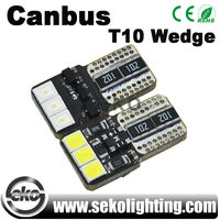 12v t10 w5w led canbus license plate light for audi