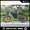 Enduro ebike, high performance powerful 72v 3kw electric scooter motorcycle