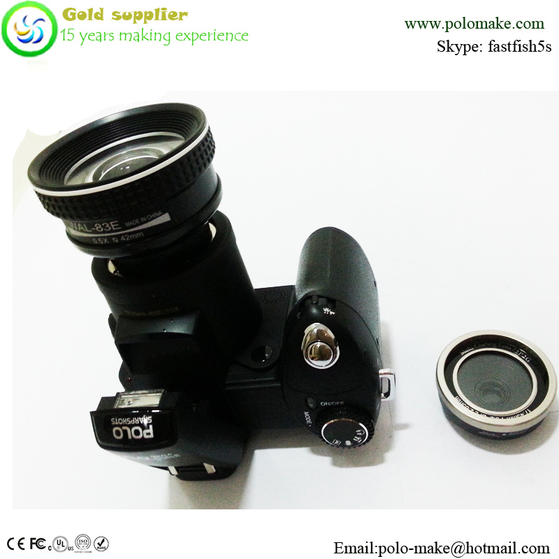 Good quality and cheap price DSLR Cheapest SLR Digital Camera with Wide Angel Lens & Telephotos Lens