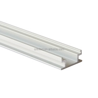 linear flat china supplier silver led aluminium extruded profile for floor light