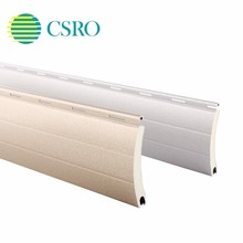 Aluminium slats for roller shade shutters parts in Nanjing